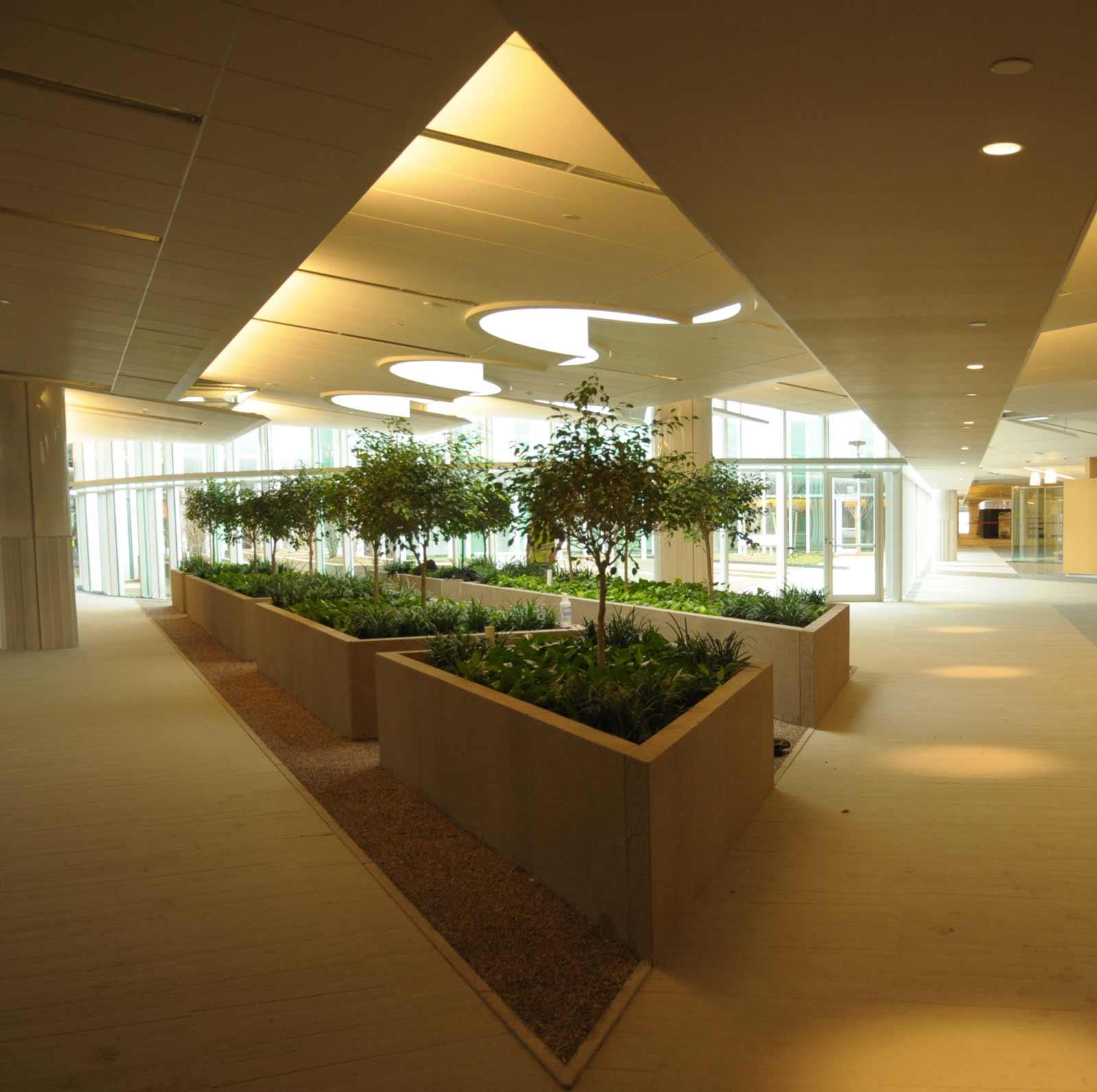 garden gallery area